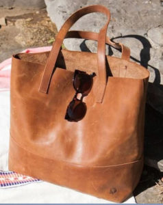 tote bag leather online