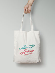 totebag Always Away 2