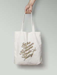 totebag Be the reason 2